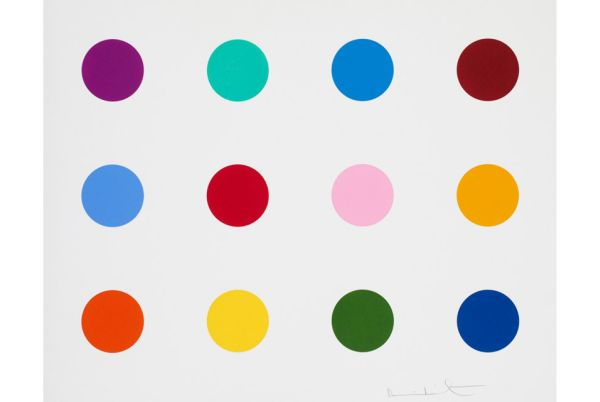 damien hirst on Manifold Editions