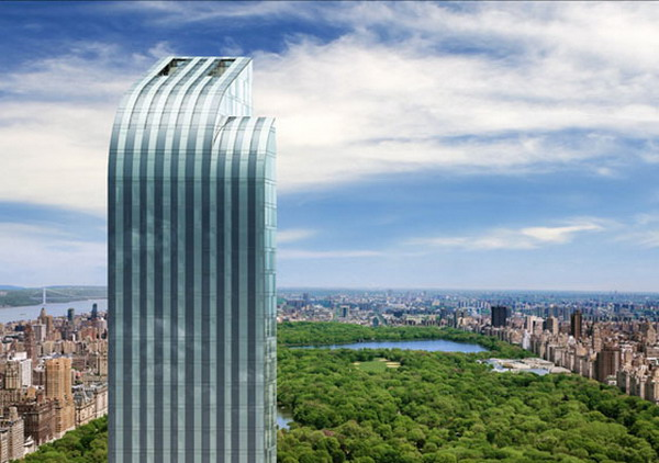 Super expensive manhattan property the one57 top floor penthouse