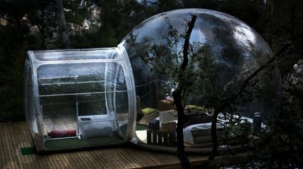 Attrap r 234 ves hotel in france provides furnished bubbles in multiple