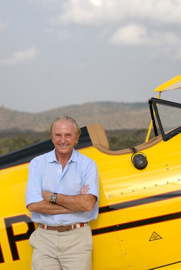Founder Chairman Geoffrey Kent 50th Anniversary Safari Celebrates Fifty Years of Abercombie & Kent
