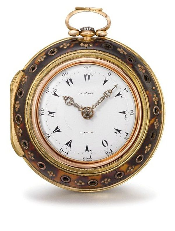 Pocket watch at Christies Christie's New York Brings Jewelry, Watches, Wine and Design for Luxury Week Auctions in June