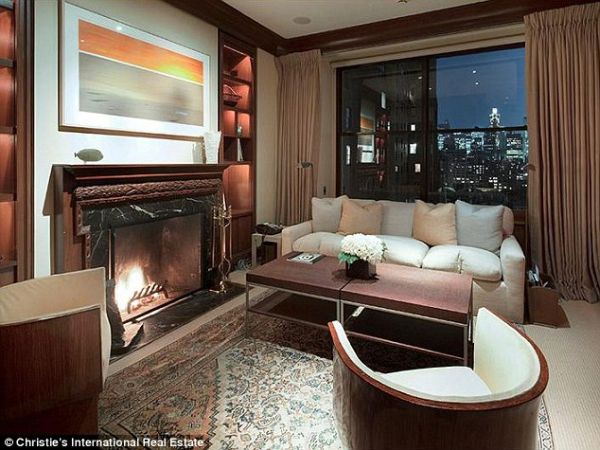 Sitting Room with City View