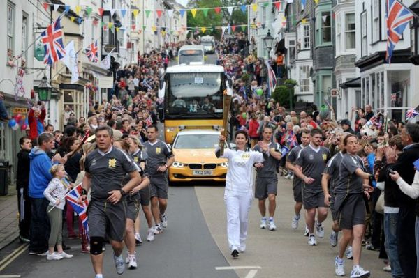 The Olympic Torch for London 2012