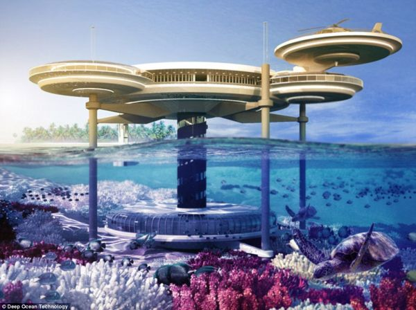 Water Discus Hotel' 2 Discus Hotel: Dubais Underwater Hotel to Have 21 Guest Rooms
