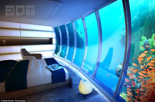 Water Discus Hotel' 3 Discus Hotel: Dubais Underwater Hotel to Have 21 Guest Rooms