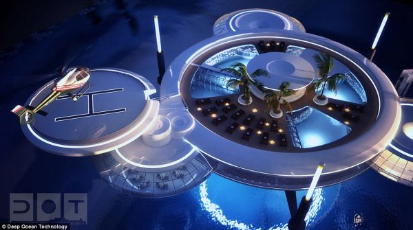 Water Discus Hotel' 4 Discus Hotel: Dubais Underwater Hotel to Have 21 Guest Rooms