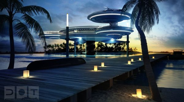 Water Discus Hotel' 5 Discus Hotel: Dubais Underwater Hotel to Have 21 Guest Rooms