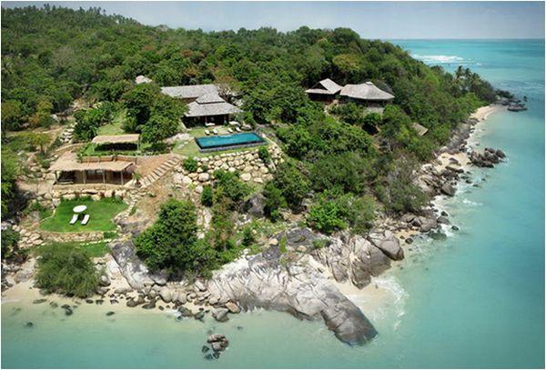 Beachfront Estate in Thailand