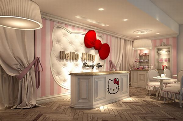 Hello Kitty Spa Hello Kitty Diversifies into Beauty Spa, Opens First Establishment in Dubai
