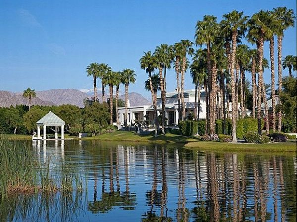 Merv Griffin's luxury estate