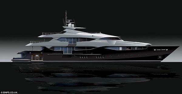 Eddie Jordan's Yacht