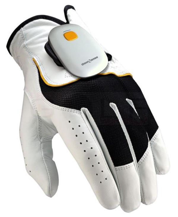 GolfSense Attached to a Glove