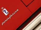 File photo of the Pininfarina logo pictured at the Casa Enzo Ferrari museum during a media preview in Modena