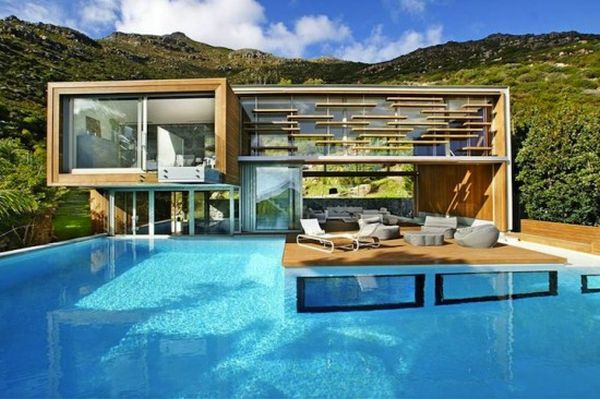 spa house in cape town south africa has water as its primary experience - Coolest House In The World 2014
