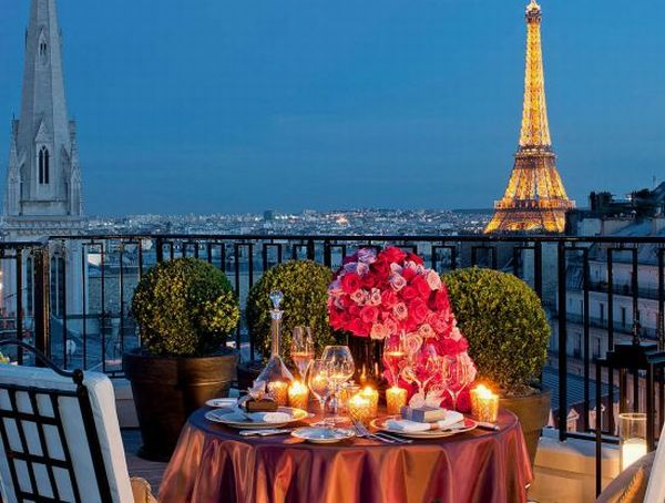 The Terrace of the New Suite1 Four Seasons Hotel George V Paris Introduces Luxurious Penthouse Suite