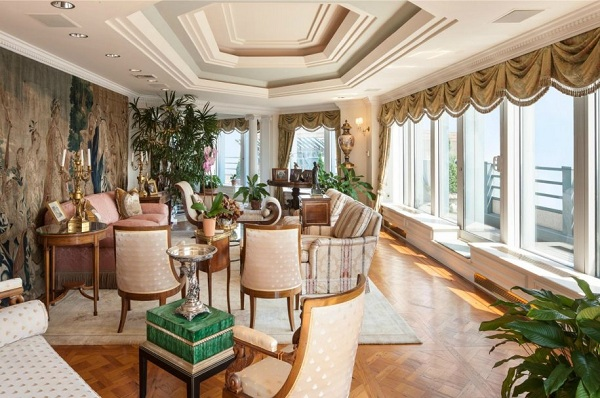 Steven klar s luxury penthouse is the most expensive home for Penthouses for sale in nyc