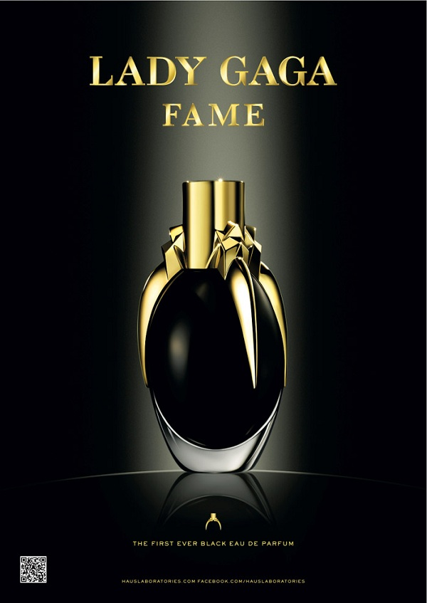 the fame of the lady Lady Gaga's Fame Fragrance created by Coty