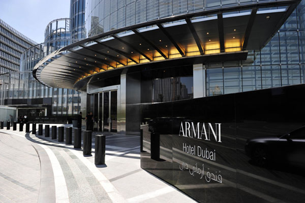 Armani hotel accomodation