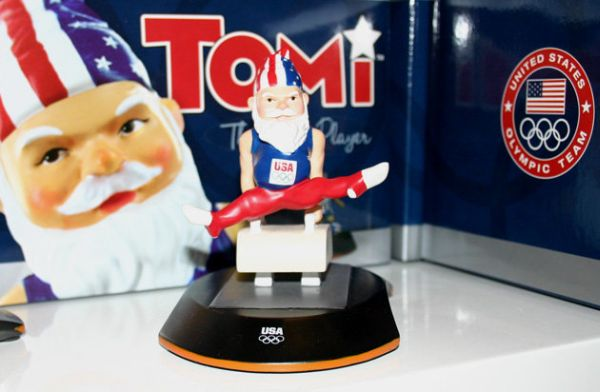 GNOME on pommel horse London Olympics Expensive Items on Sale