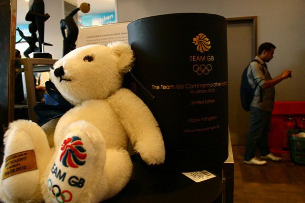 TEDDY BEAR London Olympics Expensive Items on Sale