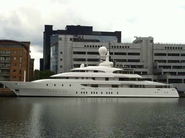 ilona London Olympics 2012: Superyachts On The Thames