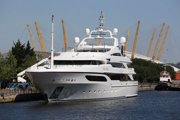 seanna London Olympics 2012: Superyachts On The Thames