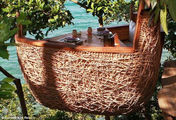 Tree Restaurant at Soneva Kirl Eco Resort in Thailand 2