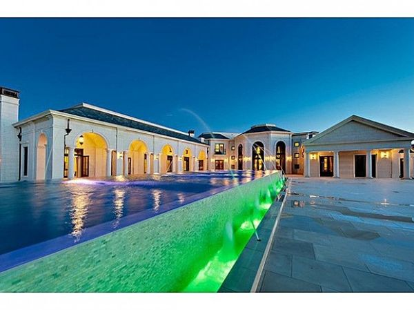 Infinity Pool In Bradbury Estate Don Abbey Lists Two Super Luxury Residences for $78 Million Each