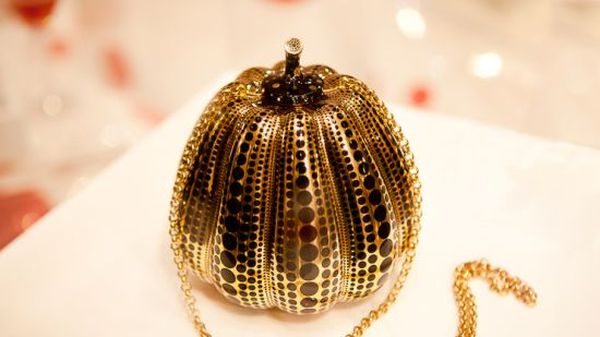 Kusama Pumpkin Minaudière by LV Kusama Pumpkin Minaudière Launched by LV at Selfridges for $133,430