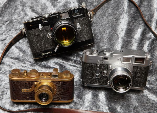 Three Most Expensive Cameras from a Serial Production