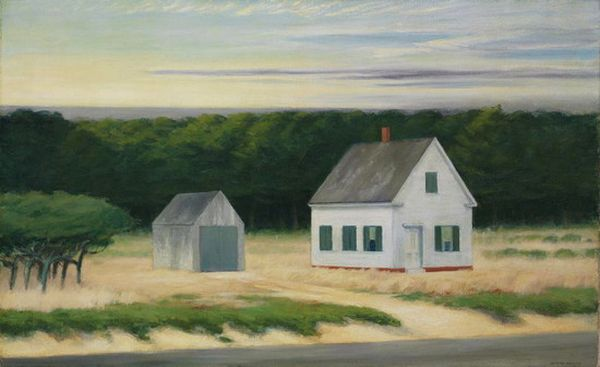 October on Cape Cod by Edward Hooper