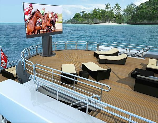Largest TV Perfect for Private Yachts