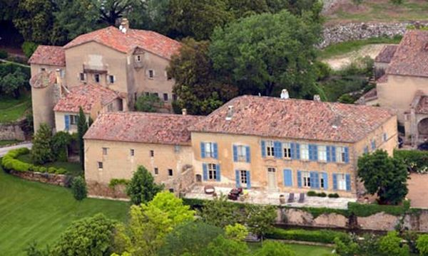 Angelina Jolie Brad Pitt's Chateau Miraval home
