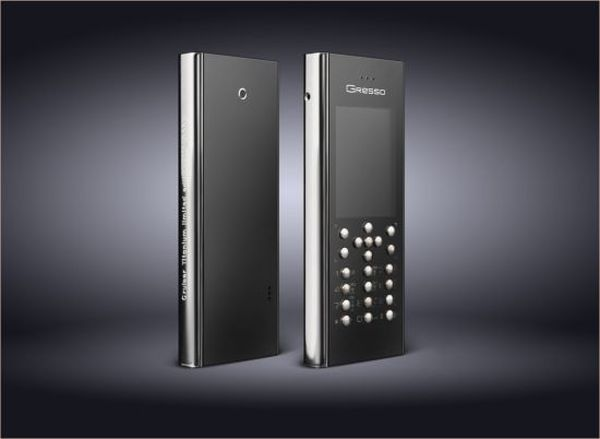 Cruiser Titanium Phone by Gresso