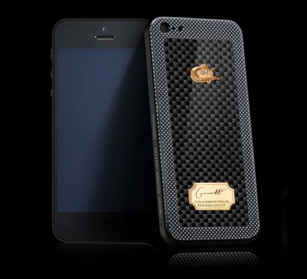New iPhone in the Caviar Range Perla Penna's Ultra Macho CAVIAR iPhone 5 Titano Diabolo Made from Titanium