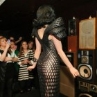 Ditta Von Teese in 3D Printed Gown