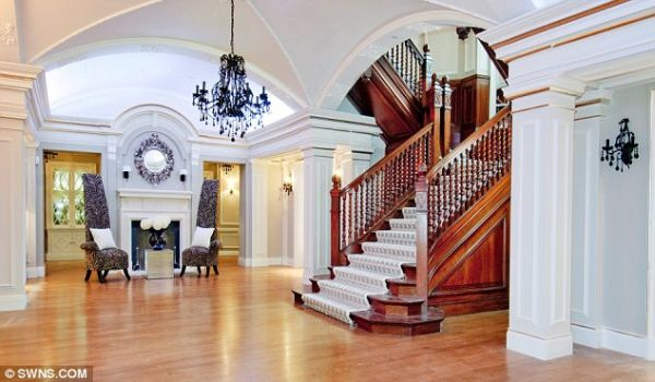 Grand Staircase made from Oak