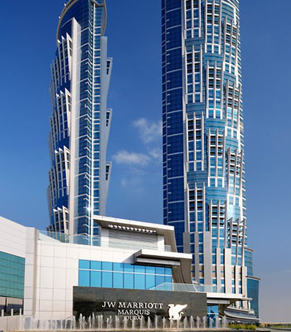 JW Marriot Marquis Dubai In JW Marriott Marquis, Dubai Now Has the Tallest Hotel in the World