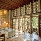 Millard House Built with Concrete Blocks