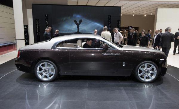 The 2014 Rolls-Royce Wraith