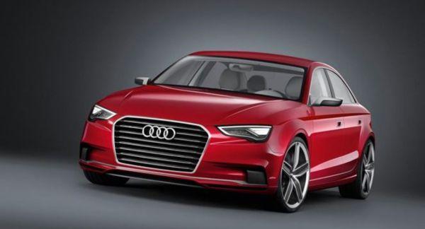 The Audi A3 sedan