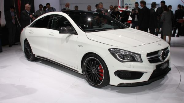 The Mercedes-Benz CLA45 AMG