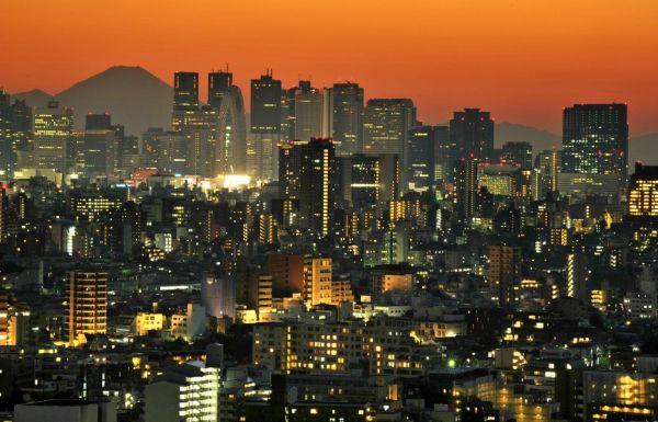 JAPAN-SUNSET