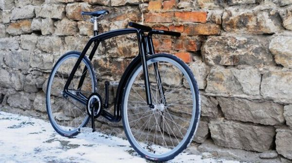 viks stainless steel bike