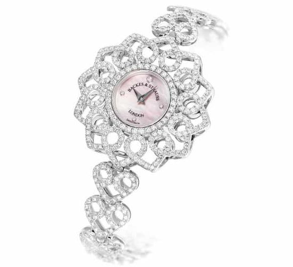 Backers & Strauss Victoria Princess diamond watch