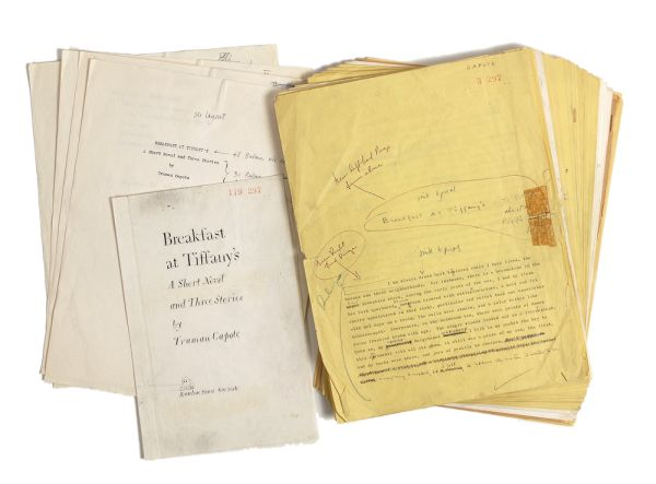 Manuscript of Breakfast at Tiffany's