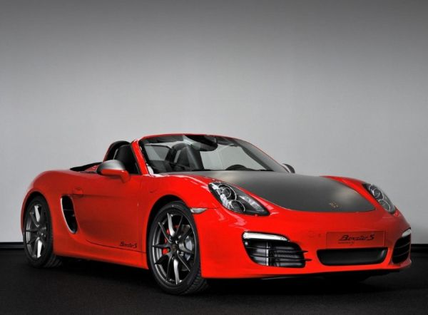 Special Porsche Boxster-s Red 7