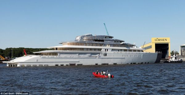 The 180 Meter Yacht