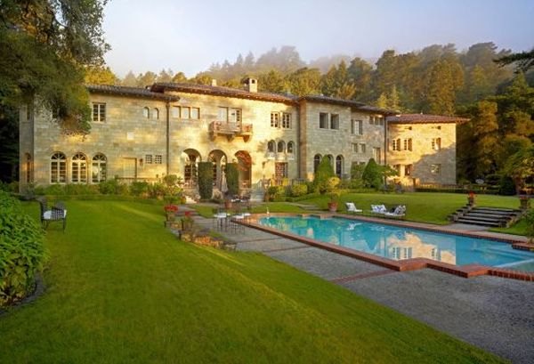 Villa Lauriston in Silicon Valley Villa Lauriston, the Florentine Mansion in Silicon Valley is Up for Auction