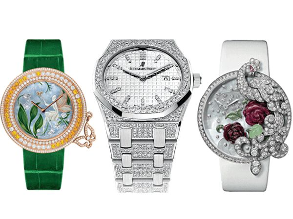 beautiful ornamental watches
